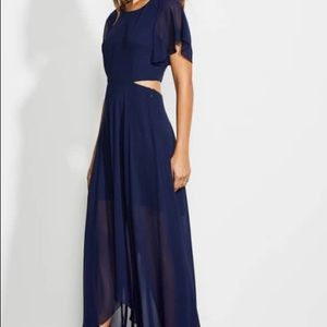 Ali & Jay Navy Maxi Dress / Prom or Formal Wedding